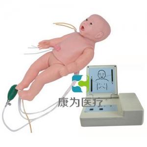 """""""康为医疗""""全功能婴儿高级标准化模拟病人(护理、CPR、听诊、除颤起博、心电监护五合一)"""