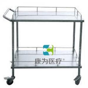 """""""康为医疗""""不锈钢器械台 (双层长方形)"""