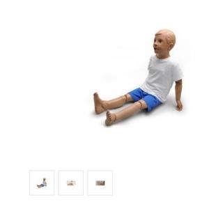 德国3B Scientific®Mike & Michelle® 5岁儿童护理模型