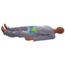 脊椎搬运训练模型,脊柱损伤搬运仿真标准化病人
