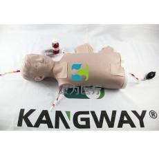 【康为医疗】高级儿童小儿中心静脉注射穿刺躯干训练模型